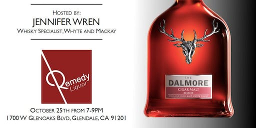 DALMORE & JURA SCOTCH WHISKY TASTING EVENT