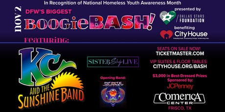 Boogie Bash! KC & the Sunshine Band; Sister Sledge; Infinite Journey tickets