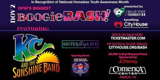 Boogie Bash! KC & the Sunshine Band; Sister Sledge; Infinite Journey