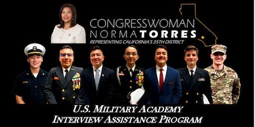 U.S. Military Academy Interview Assistance Program