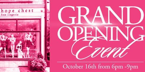 The Hope Chest Philadelphia Grand Re-Opening