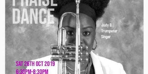 Gospel concert featuring Lady trumpeter