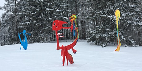 Snowshoe Tours in the Sculpture Park - February 8, 2020 (10:30 am or 1 pm) tickets