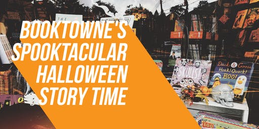 Halloween Story Time at BookTowne
