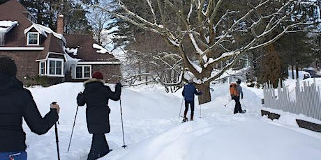 Snowshoe Tours in the Sculpture Park - February 15, 2020 (10:30 am or 1 pm) tickets