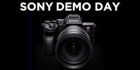Sony Demo Day tickets