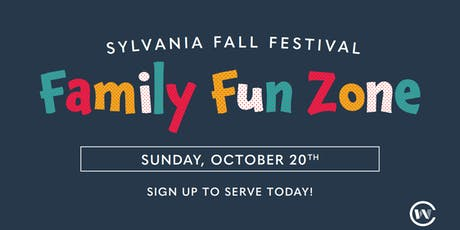 Serving at the Family Fun Zone 2019 tickets