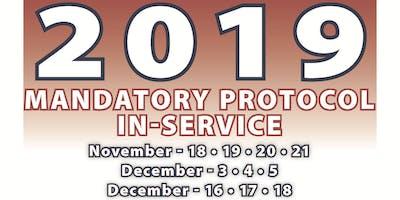 2019 Mandatory Protocol Paramedic In-Service