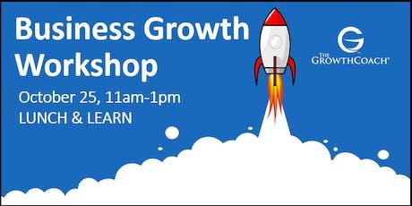 Business Growth Workshop 10/25/19 tickets