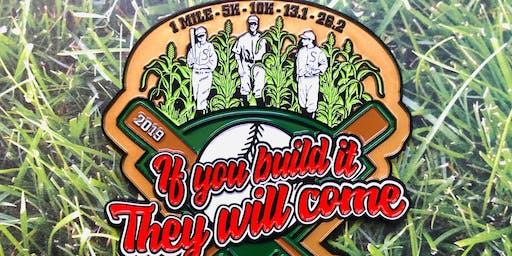 If You Build It They Will Come 1M 5K 10K 13.1 26.2 -Jersey City