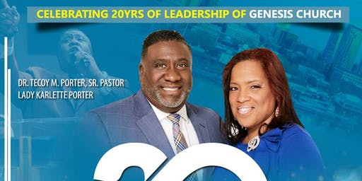 20th Pastor's Anniversary Banquet