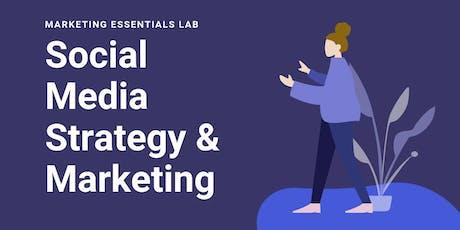 Social Media Strategy and Marketing Training tickets