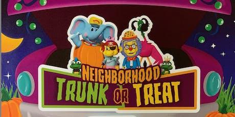 Neighborhood Trunk or Treat tickets