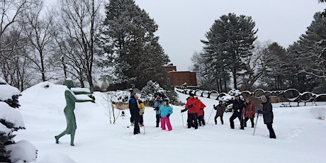 Snowshoe Tours in the Sculpture Park - February 29, 2020 (10:30 am or 1 pm) tickets