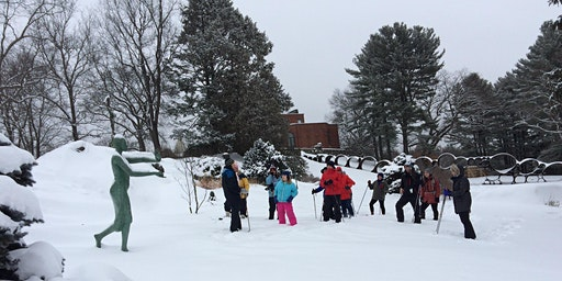 Snowshoe Tours in the Sculpture Park - February 29, 2020 (10:30 am or 1 pm)