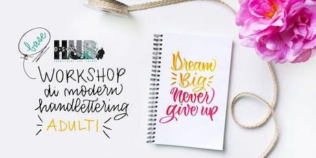 Workshop Modern Handlettering con ZELIDE biglietti