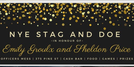 NYE Stag and Doe in Honour of Emily Groulx and Sheldon Price