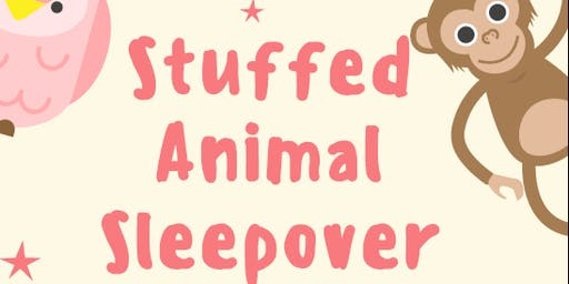 Story Time Lock-In and Stuffed Animal Sleepover