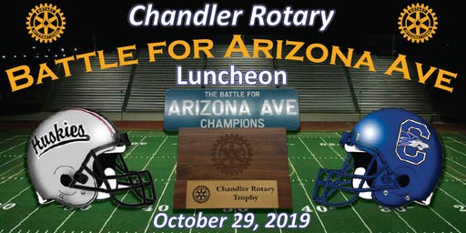 2019 Chandler Rotary Battle for Arizona Avenue Luncheon