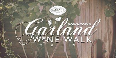 Wine Walk Downtown Garland Nov 2nd 2019