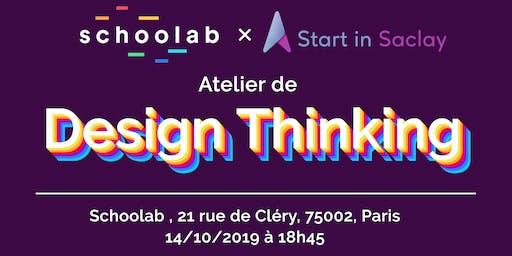 Atelier de design thinking, StartinSaclay x Schoolab