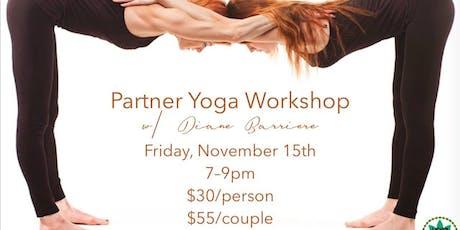 Partner Yoga Workshop tickets