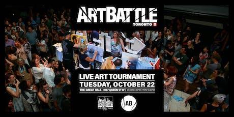 Art Battle Toronto - October 22, 2019 tickets
