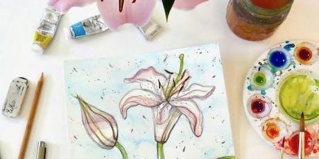 Watercolor Flower Still Life tickets