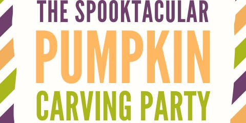 1st Annual Spooktacular Pumpkin Carving Party!