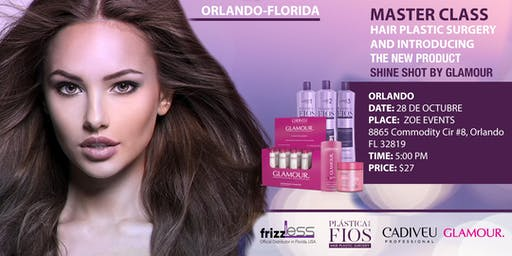 Master Class Hair Plastic Surgery and introduction the new product