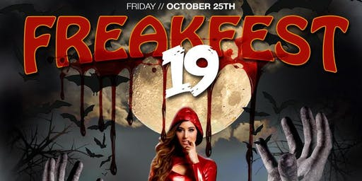 The FreakFest 2019 - The Annual Halloween Costume Party
