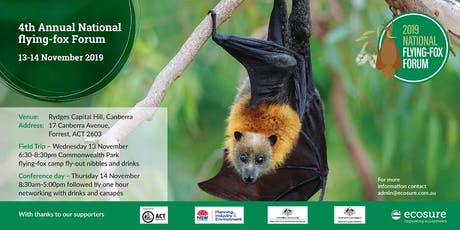 4th Annual National flying-fox Forum tickets