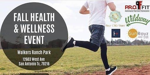 Fall Health & Wellness Event