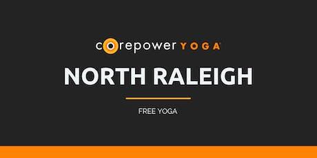 FREE Yoga Sculpt at Trivium Briar Creek with CorePower Yoga - October tickets