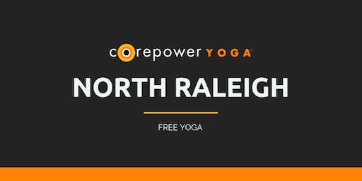 FREE Yoga Sculpt at Trivium Briar Creek with CorePower Yoga - October