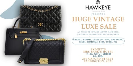 Sydney Vintage LUXE Handbags & Accessories 2 day sale-100% Authenticity tickets