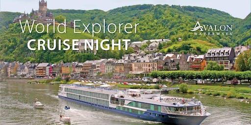World Explorer Cruise Night featuring Avalon Waterways - Flower Mound