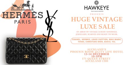 Auckland Vintage Luxury Handbag and Accessories sale! 100% Auth tickets