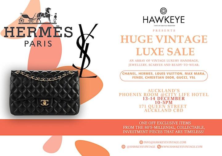 Auckland Vintage Luxury Handbag and Accessories sale! 100% Auth image