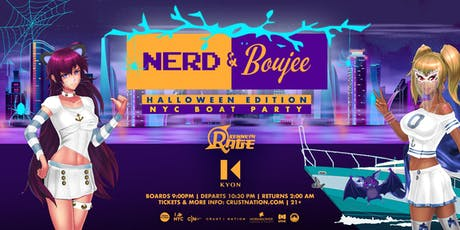 Nerd & Boujee NYC Boat Party Yacht Cruise Halloween Friday tickets