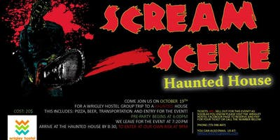 Scream Scene Haunted House