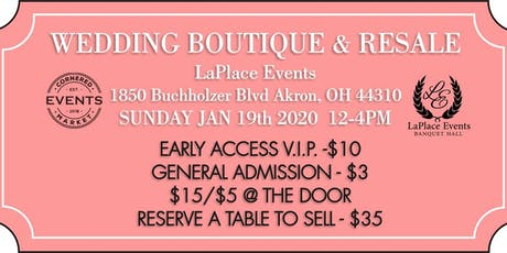 Wedding Boutique Bridal Show and Resale by Cornered Market Events tickets