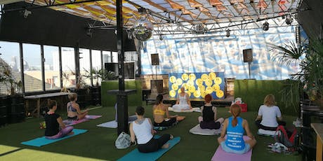 KUNDALINI YOGA WITH A VIEW - Weds Mornings in Dalston - Rooftop Yoga tickets