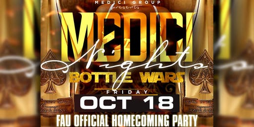 MEDICI NIGHTS: FAU HOMECOMING