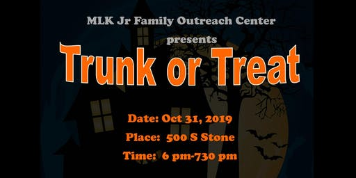 Trunk or Treat with Martin Luther King Jr  Family Outreach Center