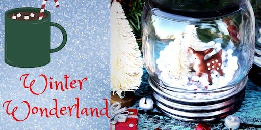 Winter Wonderland Snow Globe workshop (6yo & Up)