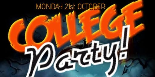 College Party ★ (Mon-21st-October) FREE Ticket