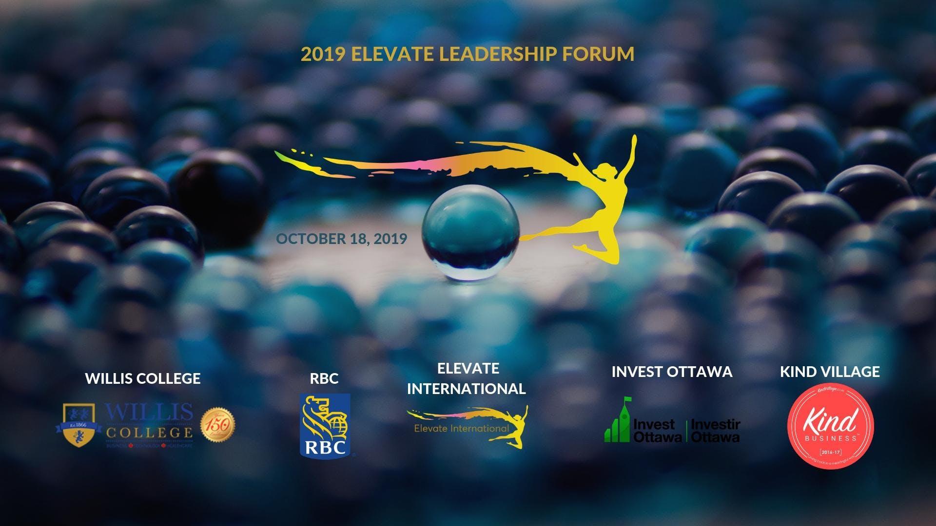 2019 Elevate Leadership Forum