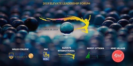 2019 Elevate Leadership Forum tickets