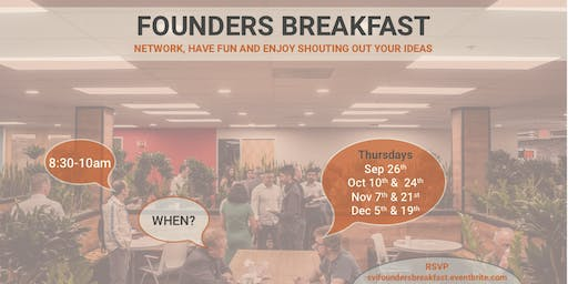 Startup Founders Breakfast Networking